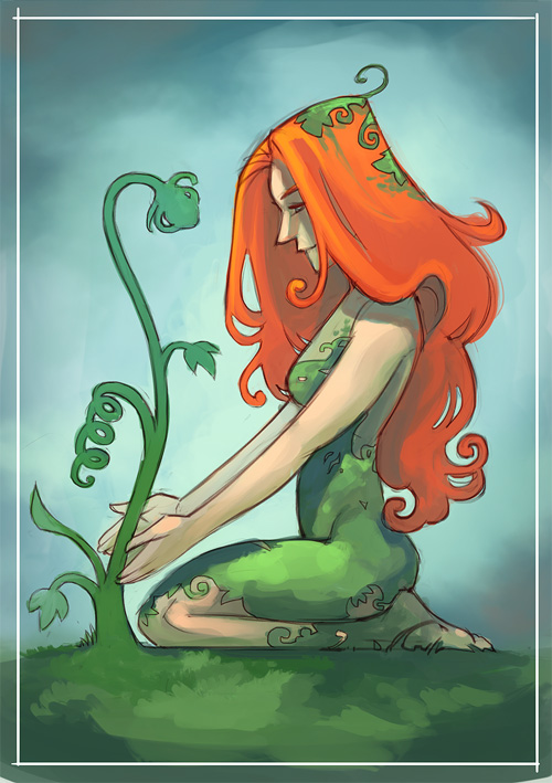 Sketch Dailies 13/09: Poison Ivy