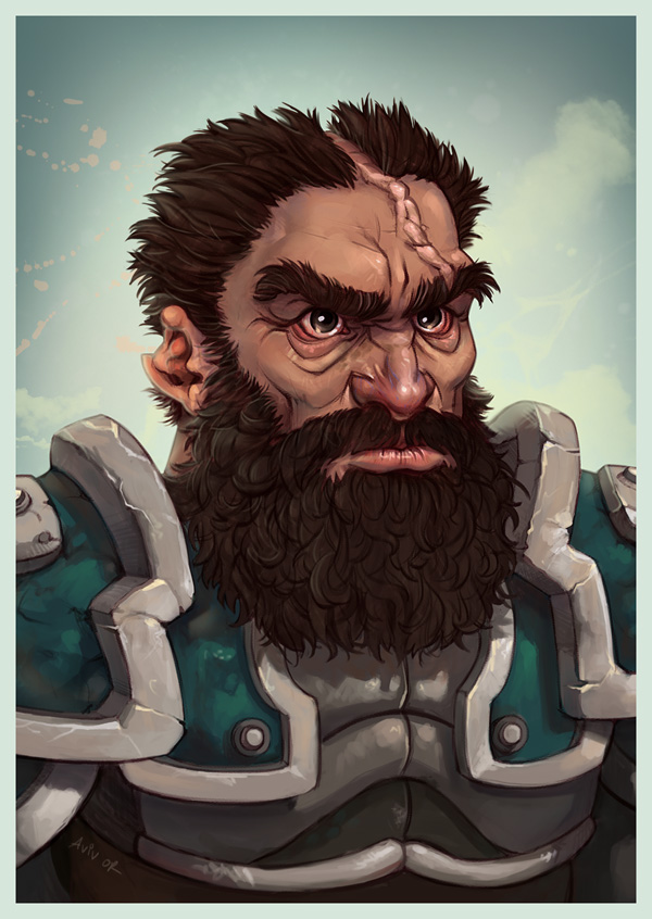 Gorthang- character portrait