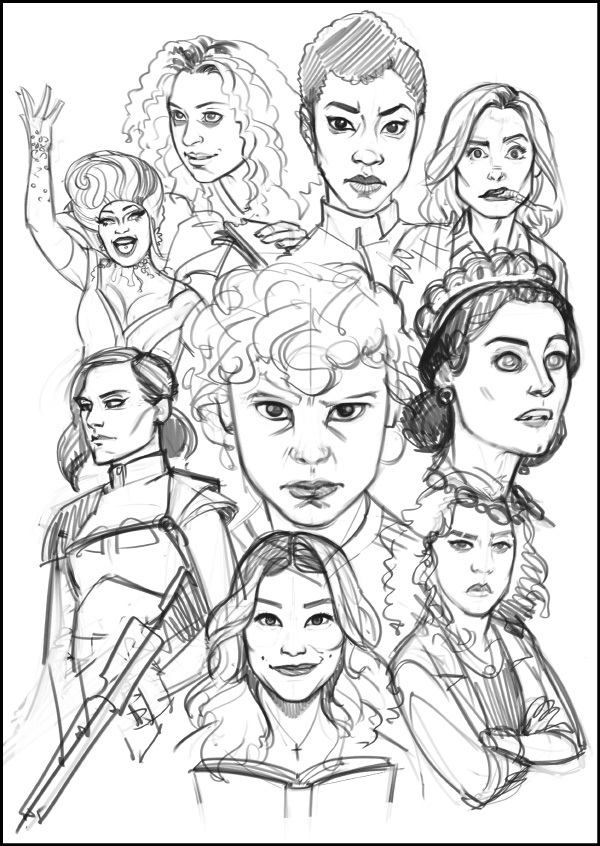 TV Ladies 2017 - sketch