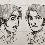 Singularity 1885: character designs for a graphic novel