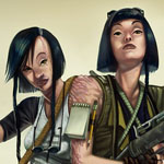 Post-Apocalyptic Siamese Twins - design challenge at conceptart.org forums