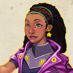 Bahati Lawrence: Space Smuggler - design challenge at conceptart.org forums