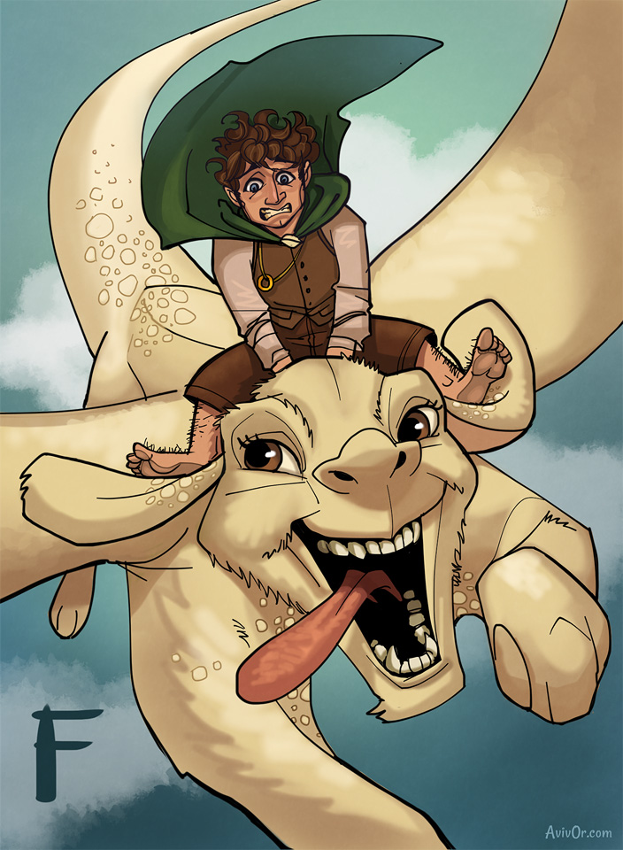 ABCharacters: F for Frodo and Falcor