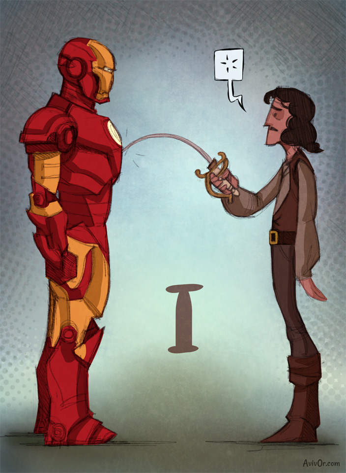 I for Inigo and Ironman