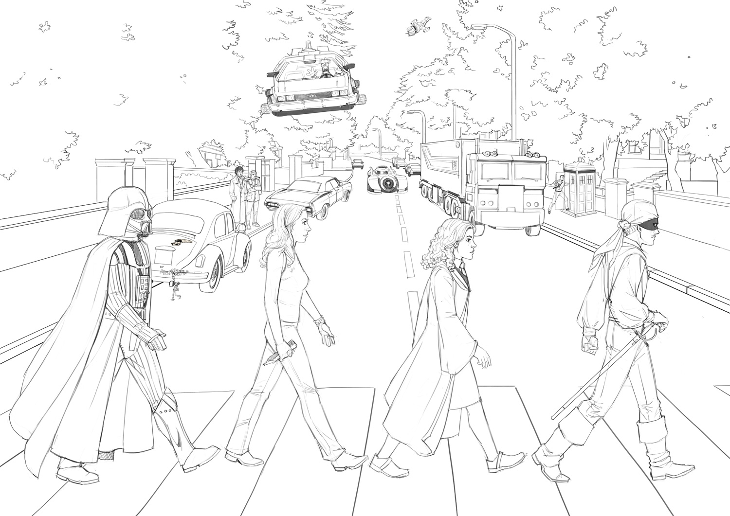 Geek Road - pencils