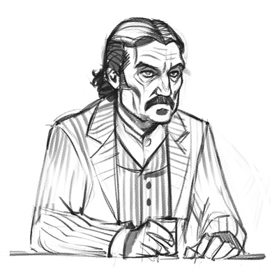 Deadwood - Al Swearengen